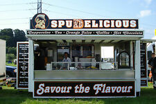 18ft Showmans Style Baked Potatoe Mobile Catering Trailer/ Burger Van For Sale