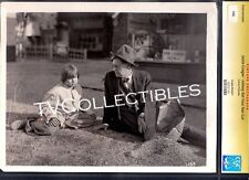 8x10 CGC Photo~ JOHNNY GET YOUR HAIR CUT ~1927 ~child actor Jackie Coogan