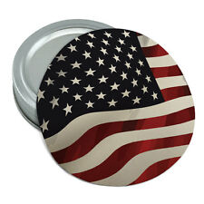US American Flag Waving United States USA Rubber Non-Slip Jar Gripper Lid Opener