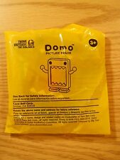 """3 1/4"""" DOMO BROWN PICTURE FRAME Factory Sealed 2010 Taco Bell Happy Meal Toy NOS"""