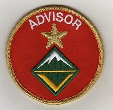 "Unit Leader Award of Merit Advisor (Venture Scouts) Patch, ""BSA2010"" Back"