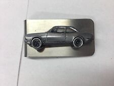 Peugeot 504 Coupe ref181 pewter effect car emblem on a stunning Money Clip