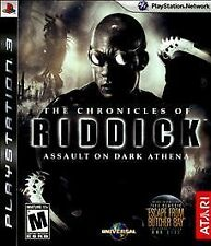The Chronicles of Riddick: Assault on Dark Athena (Sony Playstation 3, 2009)