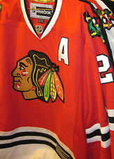 NHL Reebok Duncan Keith Chicago Blackhawks Home Red Premier Jersey (XL)