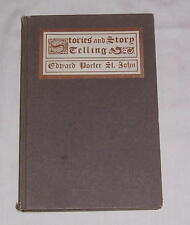 STORIES AND STORY-TELLING IN MORAL AND RELIGIOUS EDUCATION, by Edward St. John