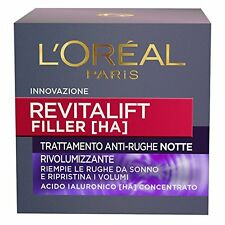 L'OREAL EXPERTISE REVITALIFT FILLER (HA) 50ML - CREMA ANTI-RUGHE NOTTE