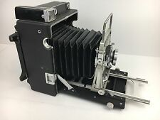 GRAFLEX CROWN GRAPHIC SPECIAL 4X5 CAMERA WITH 135MM F4.7 SCHNEIDER XENAR LENS