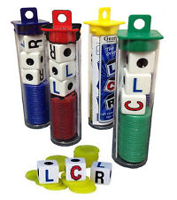 LCR Dice Game Left Right Center Family Fun Night CLR RLC