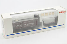 MARKLIN HO - WAGON ET CAMION MARCHANDISES MUSEUM 1993 - MADE IN GERMANY -