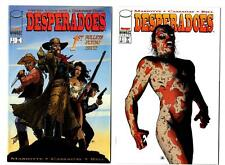 Desperadoes #1-5 (1997-98) Image VF/NM to NM