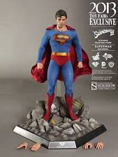 "HOT TOYS EVIL SUPERMAN 12"" Exclusive 1/6 Scale Figure Sideshow Christopher Reeve"
