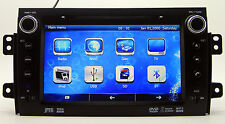 "8"" TouchScreen Car Stereo Radio DVD Player GPS Navigation For Suzuki SX4 +3D Map"