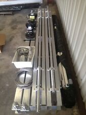 boat lift--(NEW-with warranty) 12,000 Lbs aluminum