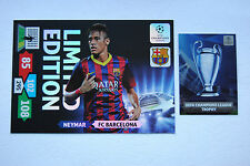 Neymar XXL Limited Edition Panini Adrenalyn XL Champions League 2013/14