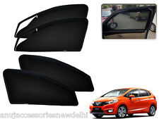 Zipper Magnetic Sun Shades Car Curtain For -New Honda Jazz (2015-present)