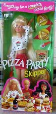 PIZZA PARTY SKIPPER PIZZA HUT  BARBIE 1994 SELTEN NRFB