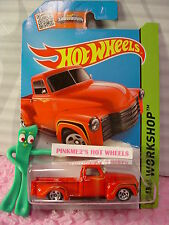 Case G/H 2015 i Hot Wheels '52 CHEVY pickup Truck 1952 #244☆red;5sp☆Then & Now