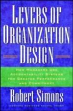 Levers Of Organization Design: How Managers Use Accountability Systems-ExLibrary