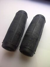 1 Pair Bicycle Handlebar Grips Black Doverite 1980s Fit Raleigh Humber Rudge NOS