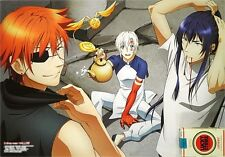 PROMO POSTER D.Gray-man HALLOW TSUKIUTA. THE ANIMATION Allen Lavi Kanda Shun