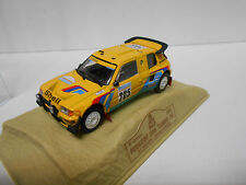 PEUGEOT 205 TURBO 16 RALLY PARIS DAKAR 1987 VATANEN NOREV M6 1:43