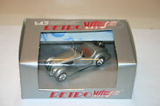 1/43  BMW 328 OPEN CABRIOLET 1938 SILVER RETRO VITESSE BROWN INT.