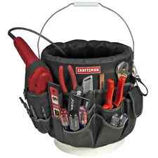 Craftsman 56 pocket Bucket Box Tool Pouch Cabinet Bag Chest Storage Toolbox