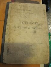 SCARCE PROBLEMS OF CONVERSION OF EGYPTIAN MEASUREMENTS TO FRENCH & ENGLISH 1901