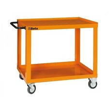 BETA TOOLS of ITALY CP52 HEAVY DUTY (Welded) TOOL TROLLEY - ORANGE