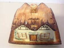 Vintage Cottage Butter/Cheese Dish England 1930's from Keele Street Potteries by