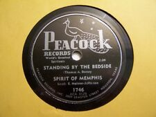 SPIRIT OF MEMPHIS-STANDING BY THE BEDSIDE/HOME IN THE SKY-PEACOCK 1746-GOSPEL 78