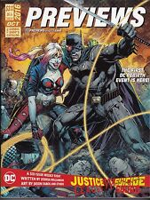 PREVIEWS  COMIC SHOP CATALOG ISSUE 337 OCT 2016 + MARVEL SUPPLEM SUICIDE SQ. JLA