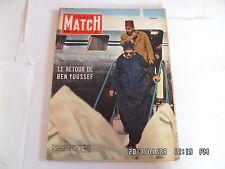 PARIS MATCH N°344 12/11/1955 BEN YOUSSEF MARGARET JOHNNIE RAY JAMES DEAN    K22