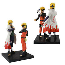 JP Anime Naruto Naruto/Yondaime 12cm-16cm PVC Figure Set of 2 pcs