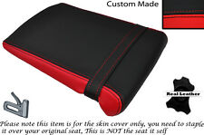 RED & BLACK CUSTOM FITS YAMAHA 1000 YZF R1 98-99 REAR LEATHER SEAT COVER