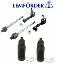 BMW E90 (2wd) IN+OUT Tie Rod Assy + Boot KIT (4 pcs) OEM E92 Steering Rack Link