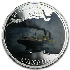 2014 1 oz Silver Canadian Lost Ships Series - R.M.S Empress of Ireland