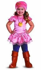Disney Jake and the Neverland Pirates Izzy Girls 2T Halloween Costume Dress Up