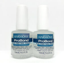 Harmony Gelish - PRO Bond Acid Free Primer 0.5oz/15ml - LOT OF 2