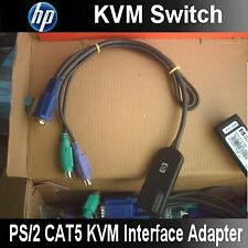 HP 286597-001 Console IP KVM Switch CAT5 Interface Adapter / Dongle PS/2