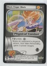 2001 Dragonball Z TCG - Trunks Saga Booster Pack Base #19 Black Finger Block 1j6