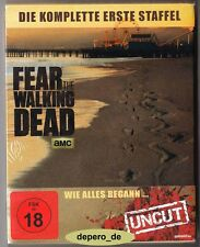 """FEAR THE WALKING DEAD - Season 1"" - Zombie Horror TV Series - BLU RAY STEELBOOK"