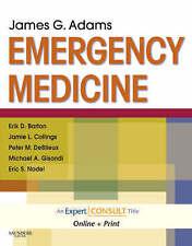 MEDICINA di emergenza, 1e (esperto consultare titolo: in linea + stampa) da Adams MD faccia
