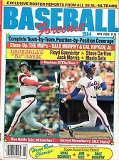1984 Baseball Forecast magazine, Ron Kittle, White Sox , Darryl Strawberry, Mets