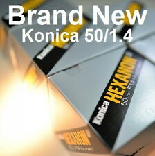 """""NEW"""" Konica Hexanon AR 50mm F1.4 (1pcs)"