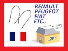 2 clés d'extraction de démontage façade autoradio CITROEN peugeot ford renault