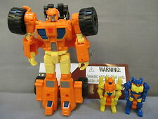 """Transformers Generations """"SCOOP"""" 30th Anniversary Complete C9+ 2013 Thrilling 30"""