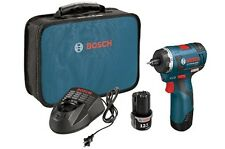 "Bosch PS22-02 12-Volt 1/4"" 2.0Ah Max Brushless Cordless Pocket Driver Kit N"