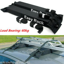 Car Van SUV Roof Top Cargo Carrier Soft Rack Luggage Travel Load 60kg Baggage