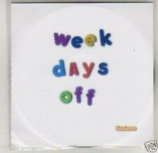 (K398) Finniston, Week Days Off - DJ CD